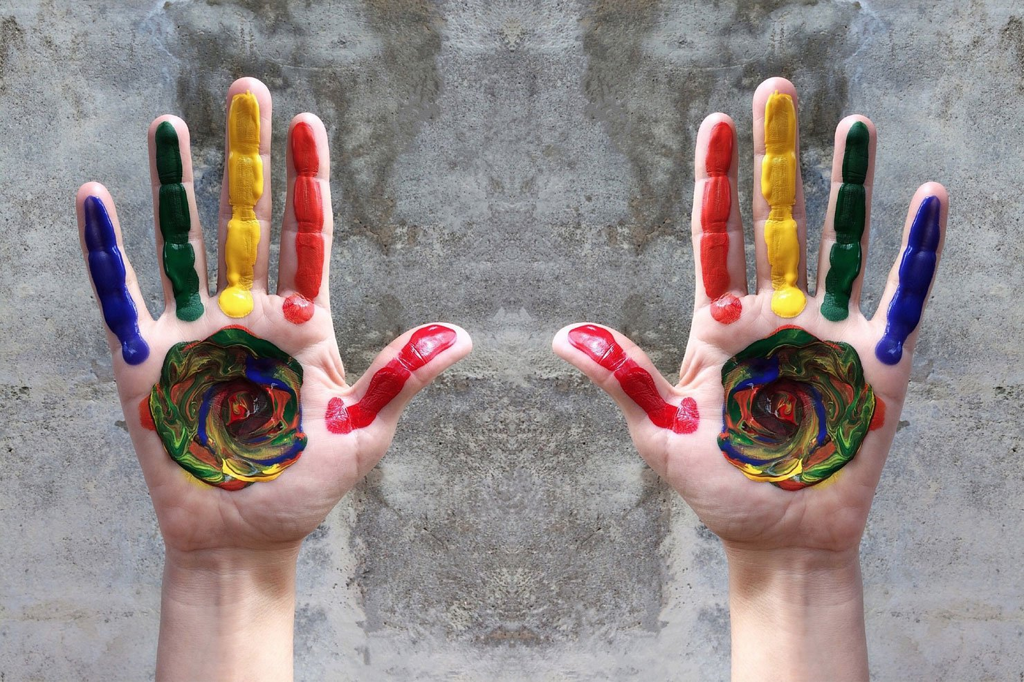 LGBT hands of color