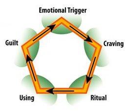 around the addiction cycle