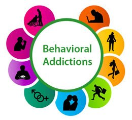 examples of behavior addictions graphic
