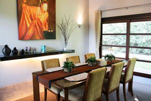 asian dining table and chairs