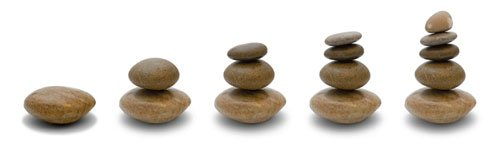5 stone steps