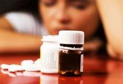 medication addicted lady